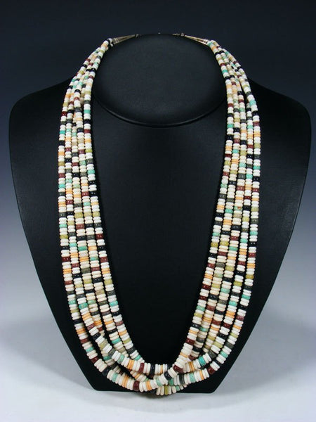 Vintage Estate Santo Domingo Multi-Stone Necklace