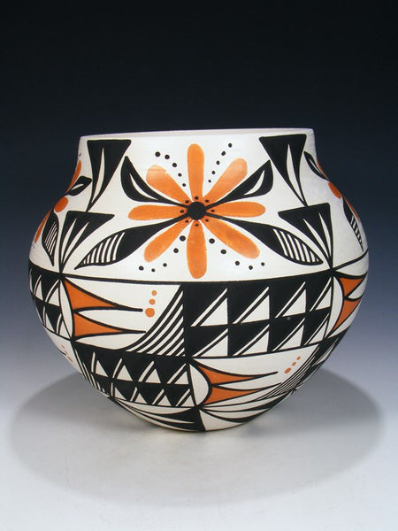 Acoma Pueblo Painted Pottery Bowl Olla