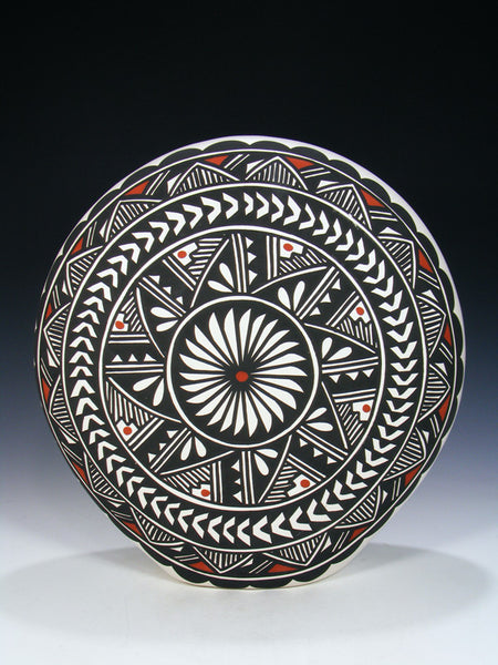 Acoma Pueblo Painted Pottery Pillow Pot