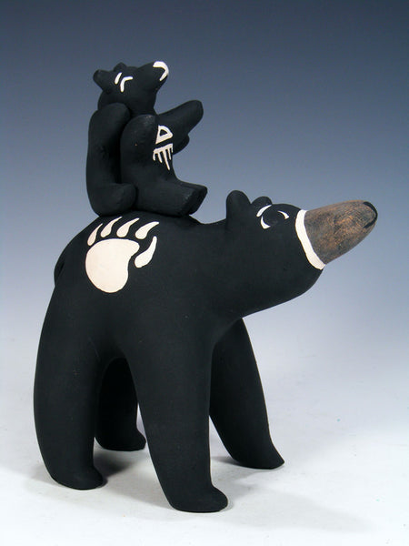 Cochiti Pueblo Storyteller Bear Family