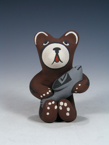 Jemez Pueblo Pottery Storyteller Brown Bear