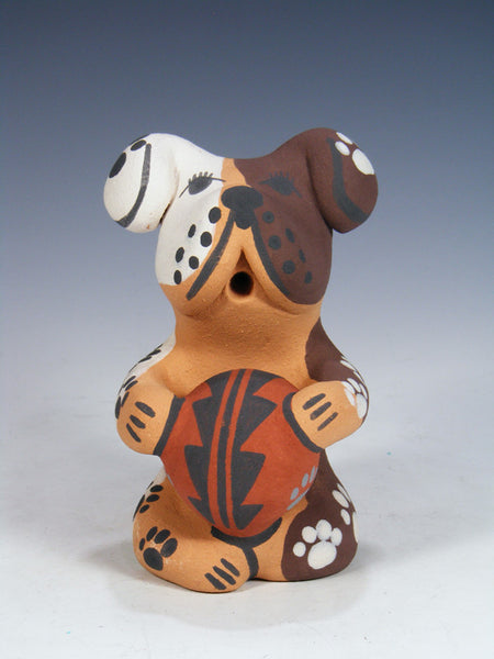 Jemez Pueblo Pottery Storyteller Floppy Ear Dog