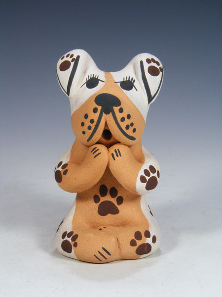 Jemez Pueblo Pottery Storyteller Puppy Trouble Dog