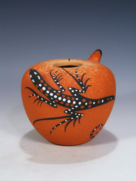 Zuni Pueblo Hand Made Seed Pot