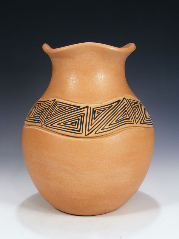 Jemez Pueblo Hand Coiled Pottery by Marcella Yepa - PuebloDirect.com - 1