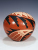 Jemez Pueblo Pottery Seed Pot by Mary H. Loretto - PuebloDirect.com - 2