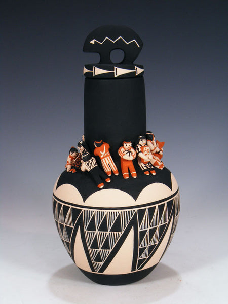 Cochiti Storyteller Vase by Dena Suina - PuebloDirect.com - 1