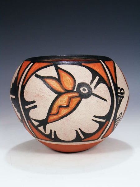 Santo Domingo Pueblo Pottery Vase by Rose Pacheco - PuebloDirect.com - 1