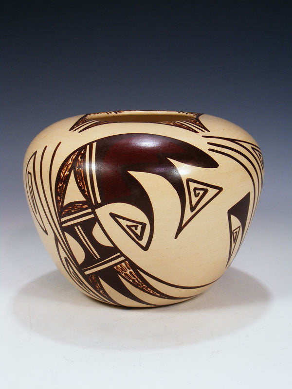 Hopi Hand Coiled Pottery by Donna Robertson - PuebloDirect.com - 1