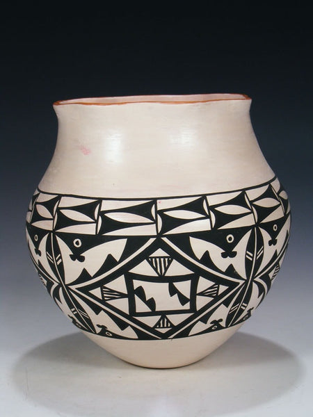 Acoma Pueblo Hand Coiled Pottery by Dylene Antonio - PuebloDirect.com - 1