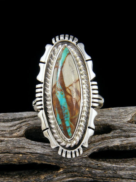 Boulder Turquoise Ring, Size 6