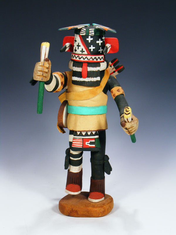Hopi Ewiro Kachina Doll by Shirley Adams - PuebloDirect.com - 1