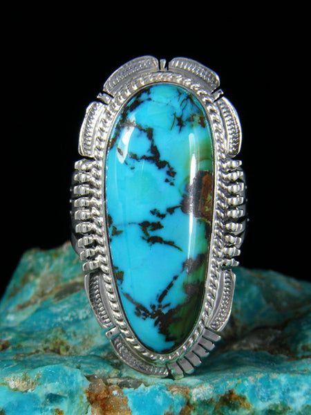 Sierra Nevada Turquoise Ring, Size 10
