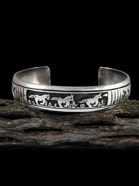 Native American Indian Jewelry Running Horse Bracelet