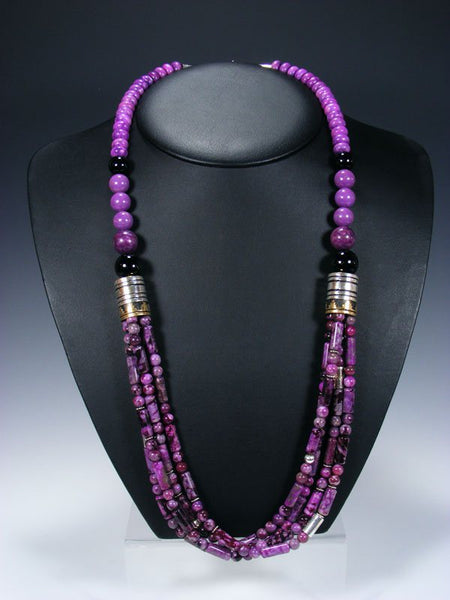 "30"" Dyed Jasper Multi Strand Beaded Necklace"