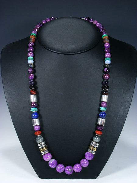 "Dyed Jasper 28"" Single Strand Long Beaded Necklace"