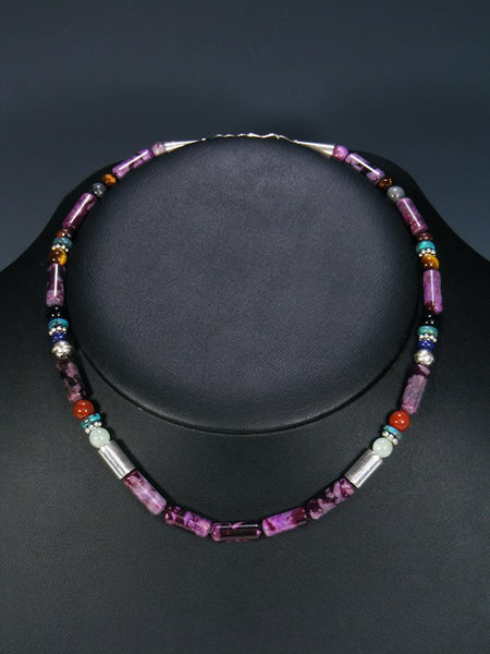 "16"" Dyed Jasper Single Strand Necklace"