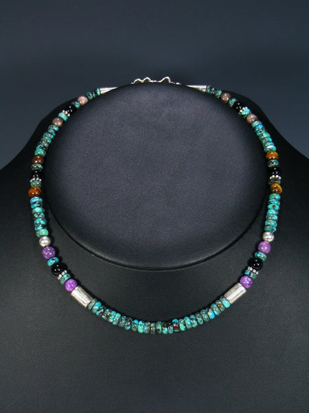 "16"" Turquoise Single Strand Necklace"
