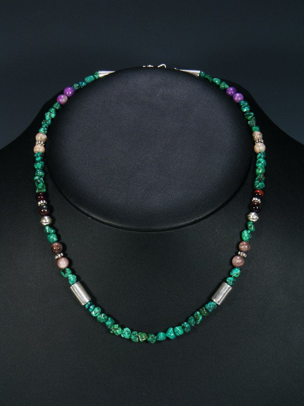"18"" Turquoise Single Strand Necklace"