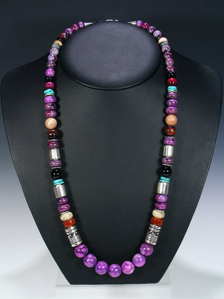 "Dyed Jasper 28"" Single Strand Necklace"