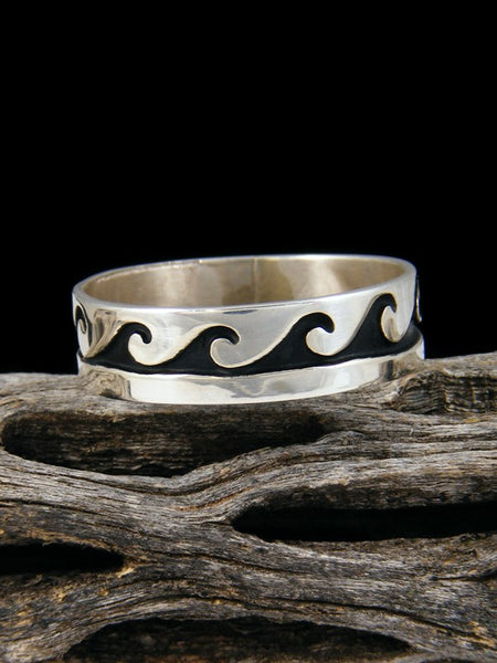 Sterling Silver Ring, Size 14