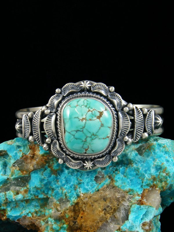 Native American Natural Carico Lake Turquoise Bracelet
