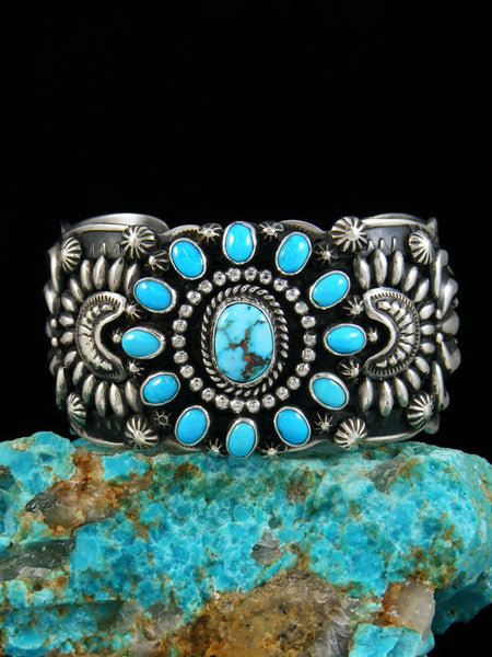 Native American Turquoise Cuff Bracelet