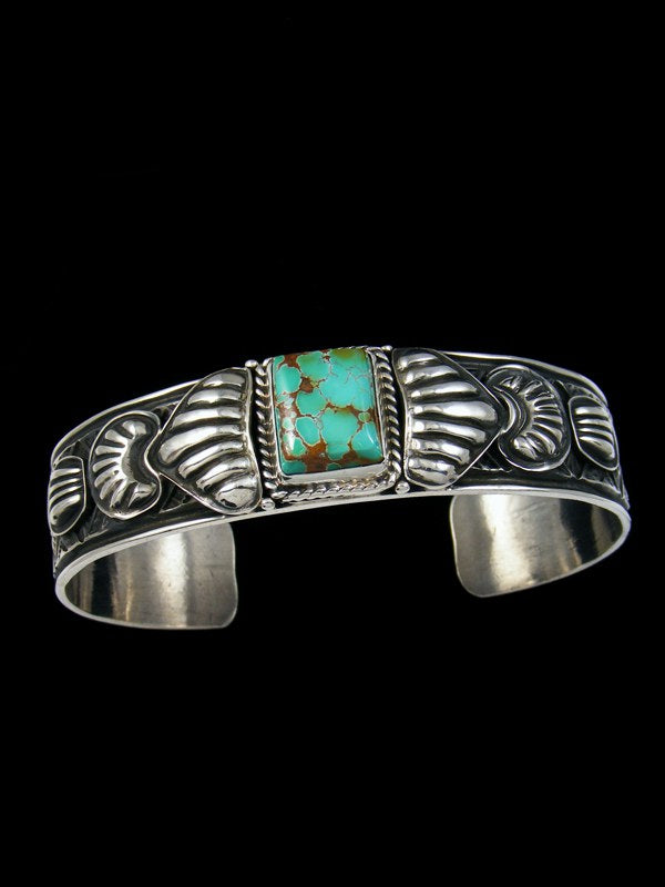 Native American Indian Jewelry Royston Turquoise Cuff Bracelet