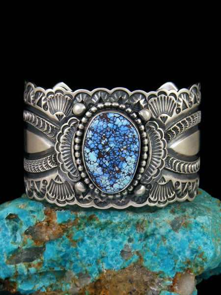 Native American Golden Hill Turquoise Cuff Bracelet