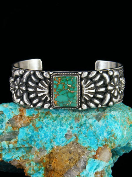 Native American Jewelry Natural Royston Turquoise Cuff Bracelet