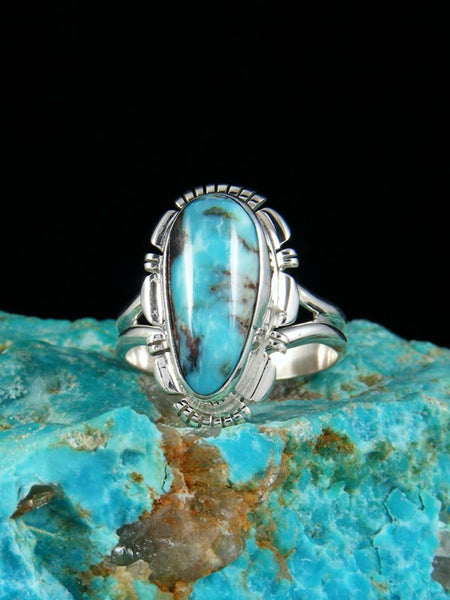 Dry Creek Turquoise Ring, Size 8