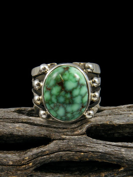 Natural Carico Lake Turquoise Ring, Size 5