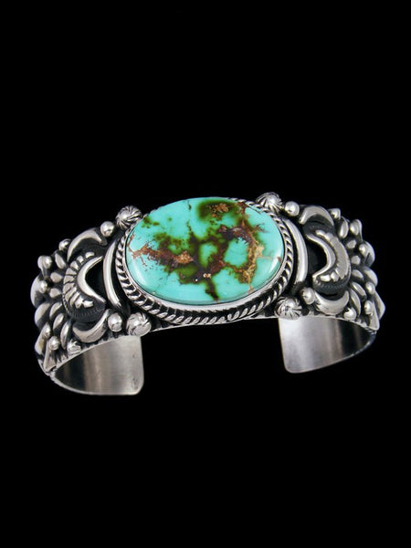 Native American Natural Royston Turquoise Cuff Bracelet