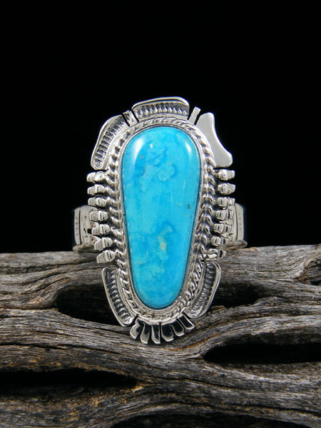 Blue Ridge Turquoise Ring, Size 8