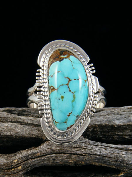 Sierra Nevada Turquoise Ring, Size 8 1/2