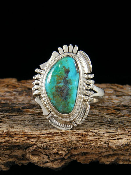 Easter Blue Turquoise Ring, Size 7