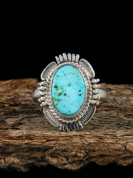 Turquoise Mountain Ring, Size 9
