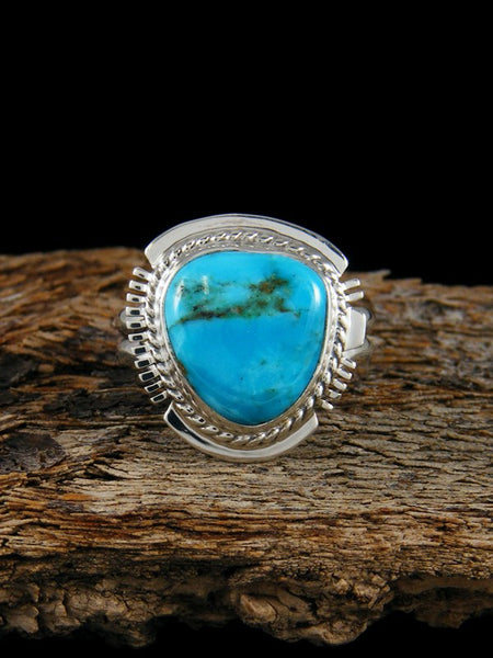 Sierra Nevada Turquoise Ring, Size 7
