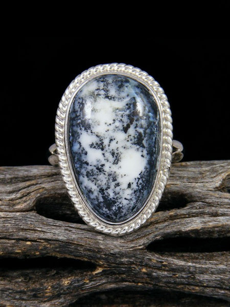 Navajo Wild Blue Ring, Size 8