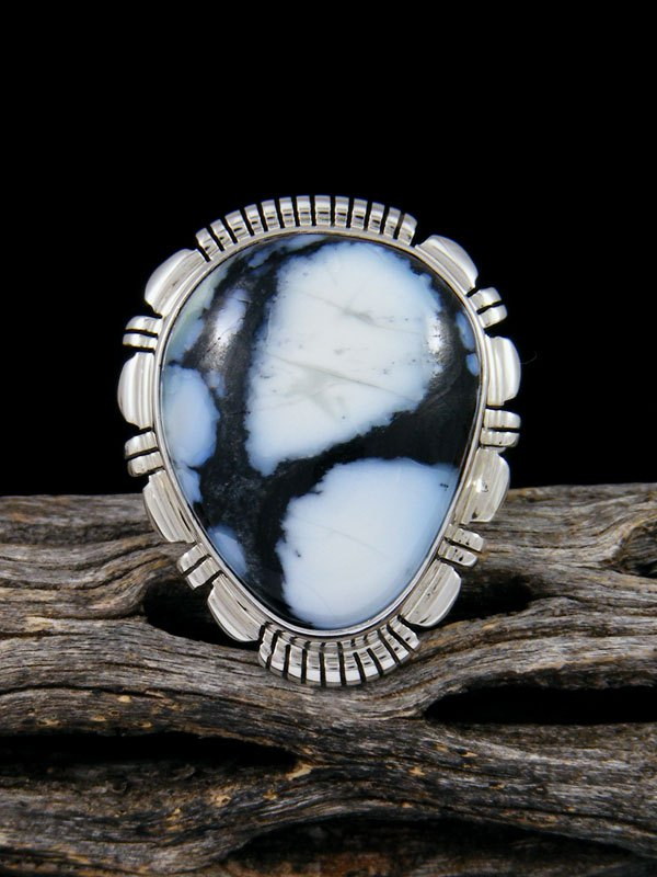 Navajo Wild Blue Ring, Size 9