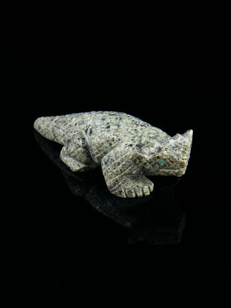 Serpentine Horned Toad Zuni Fetish
