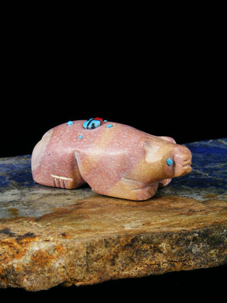 Rhyolite Bear Zuni Fetish