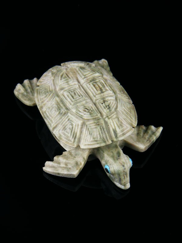 Serpentine Turtle Zuni Fetish