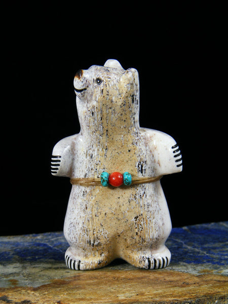 Antler Bear Zuni Fetish
