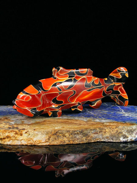 Resin Fish Zuni Fetish