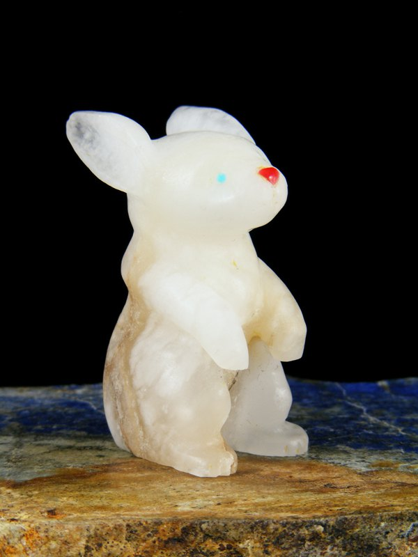 Marble Rabbit Zuni Fetish