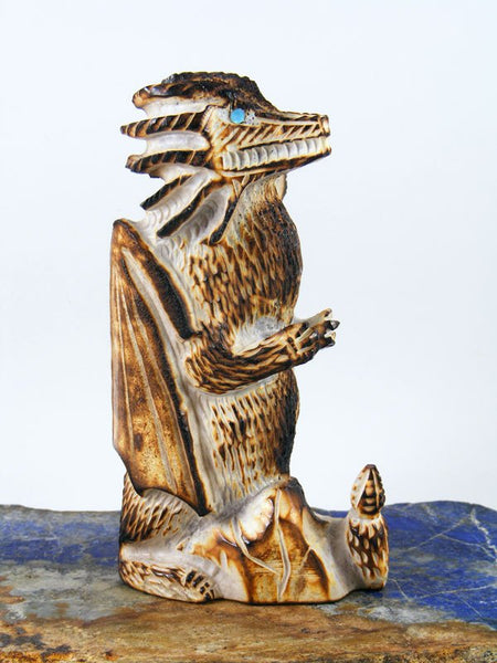 Antler Dragon Zuni Fetish