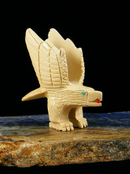 Picture Jasper Eagle Zuni Fetish