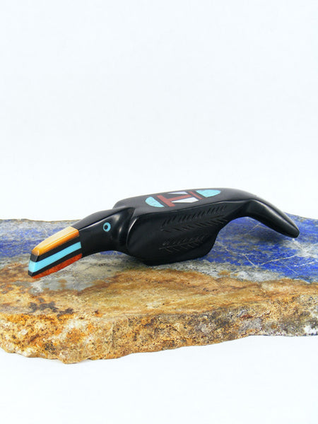 Black Jet Toucan Zuni Fetish