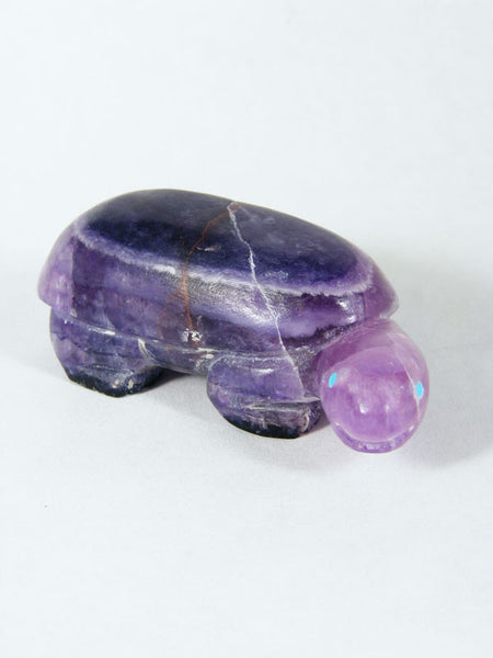 Fluorite Bear Zuni Fetish by Corwin Yamutewa - PuebloDirect.com - 1